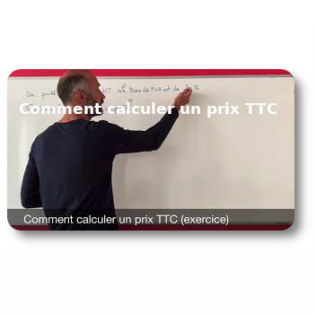 Comment calculer un prix TTC